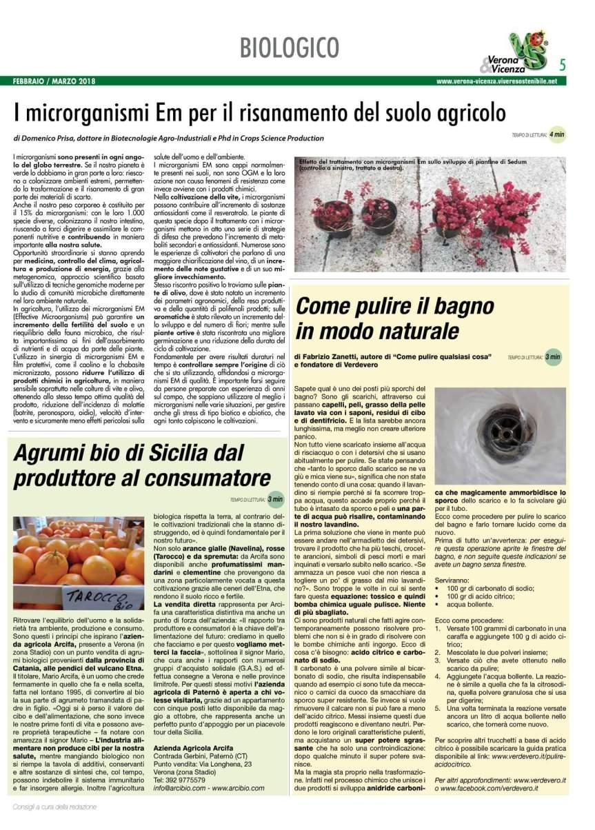 Agricoltura Micronaturale: I microrganismi EM per il Risanamento del suoloAgricolo