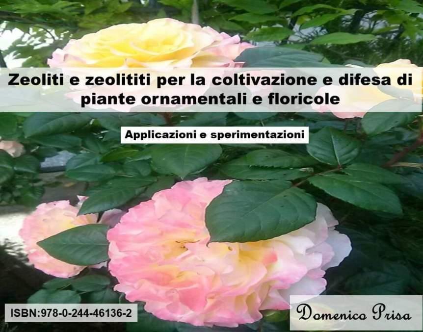 Book: Zeoliti e zeolititi per la coltivazione di piante ornamentali e floricole:applicazioni esperimentazioni