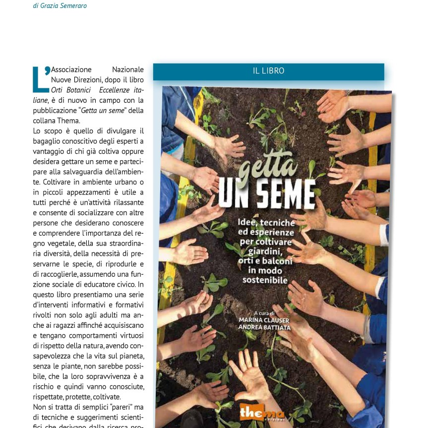 Book: Getta un seme