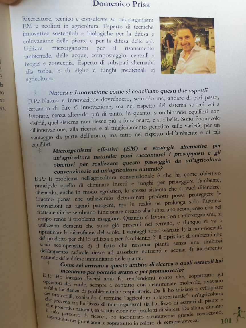 Intervista: Domenico, I microrganismi e l'ambiente